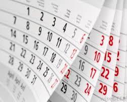 Calendario Corsi M2 2019